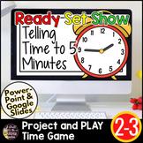 Telling Time Google Slides Game | Digital Math Game | Tell