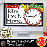 Telling Time Google Slides | Telling Time to 5 Minutes | End of the Year Review