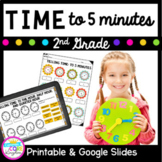 Telling Time to Five Minutes- 2nd Grade 2.MD.C.7