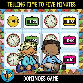 Telling Time to Five Minutes Game