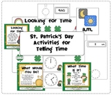 Telling Time to Five Minutes for St. Patrick's Day