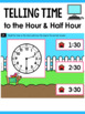 Telling Time to Hour and Half Hour Activities