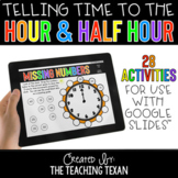 Telling Time to Hour and Half Hour Activities for Google a
