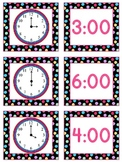 Telling Time to Hour and Half Hour