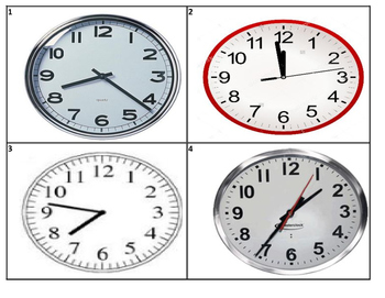 Telling Time to Minute Analog Clock Task Cards (TEK 2.9G) (28 Cards)