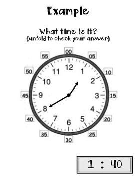 Telling Time to Nearest 5 Min