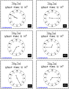 Telling Time to the 5 Minute Game