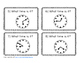 Telling Time to the 5 Minutes Task Cards