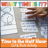 Telling Time to the Half Hour Cut and Paste Activity