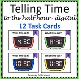 Telling Time to the Half Hour - Digital