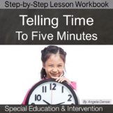 Time to the Nearest Five Minutes | Special Education Math | Intervention