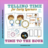 Telling Time to the Hour 12 hours