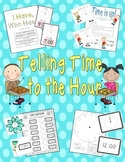 Telling Time to the Hour Activity Set