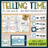 Telling Time to the Hour, Adapted for Autism