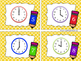 Telling Time to the Hour - Back To School Themed