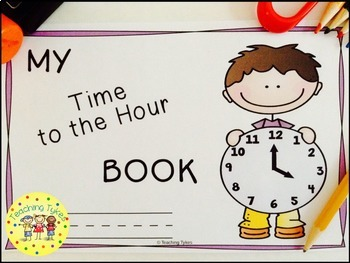 Telling Time to the Hour Interactive Book