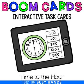 Telling Time to the Hour (Boom! Deck)