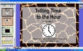 Telling Time to the Hour - CCSS - 1.MD.3 - ActivInspire Flipchart