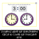 Telling Time to the Hour -- Digital Task Cards for Google Classroom