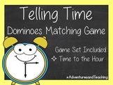 Telling Time to the Hour Dominoes Matching Game 1.MD.B.3