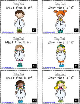 Telling Time to the Hour Game