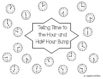 Telling Time to the Hour, Half Hour & Quarter Hour