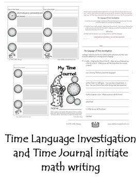 Telling Time Inquiries and Games