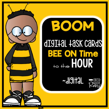 Telling Time to the Hour & Half-Hour using Digital Task  BOOM CARDS