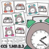 Telling Time Memory Game