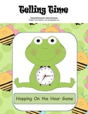 Telling Time to the Hour - Hopping on the Hour Game (diffe