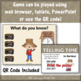 Telling Time to the Hour Interactive Math Game {Dancing Scarecrow}