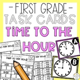 Telling Time to the Hour Math Task Card Game