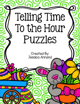 Telling Time to the Hour Puzzles