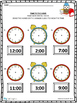 Telling Time to the Hour Quick Checks
