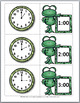 Telling Time to the Hour & Telling Time to Half Hour - Frog Math