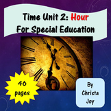 Telling Time to the Hour Unit 2 for Special Education