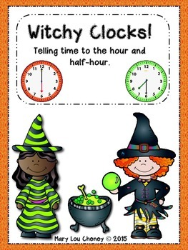 Telling Time to the Hour and Half-Hour