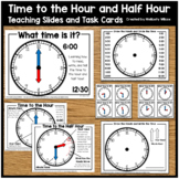 Telling Time to the Hour and Half Hour Presentation