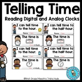 Telling Time to the Hour and Half-Hour Books