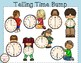 Telling Time to the Hour and Half Hour Bump Game