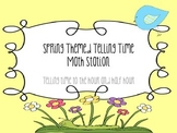 Telling Time to the Hour and Half Hour Math Station (Sprin