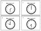 Telling Time to the Hour and Half Hour Task Cards *With Answer Key*