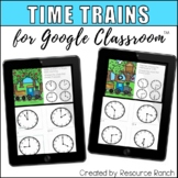 Telling Time to the Hour and Half Hour for Google Forms/Cl