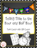 Telling Time to the Hour and Half Hour with QR Codes