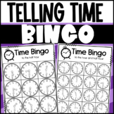 Telling Time to the Hour and Half-hour BINGO!