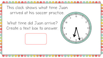 Telling Time to the Minute