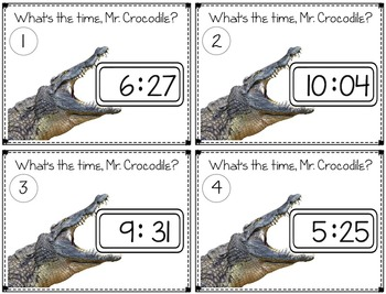 Telling Time to the Minute ~A 3rd Grade Standard~