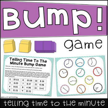 Telling Time to the Minute Bump
