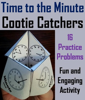 Telling Time to the Minute Game/ Telling Time to the Minute Activity