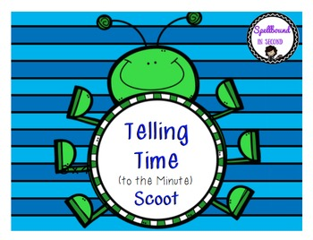 Telling Time to the Minute Scoot
